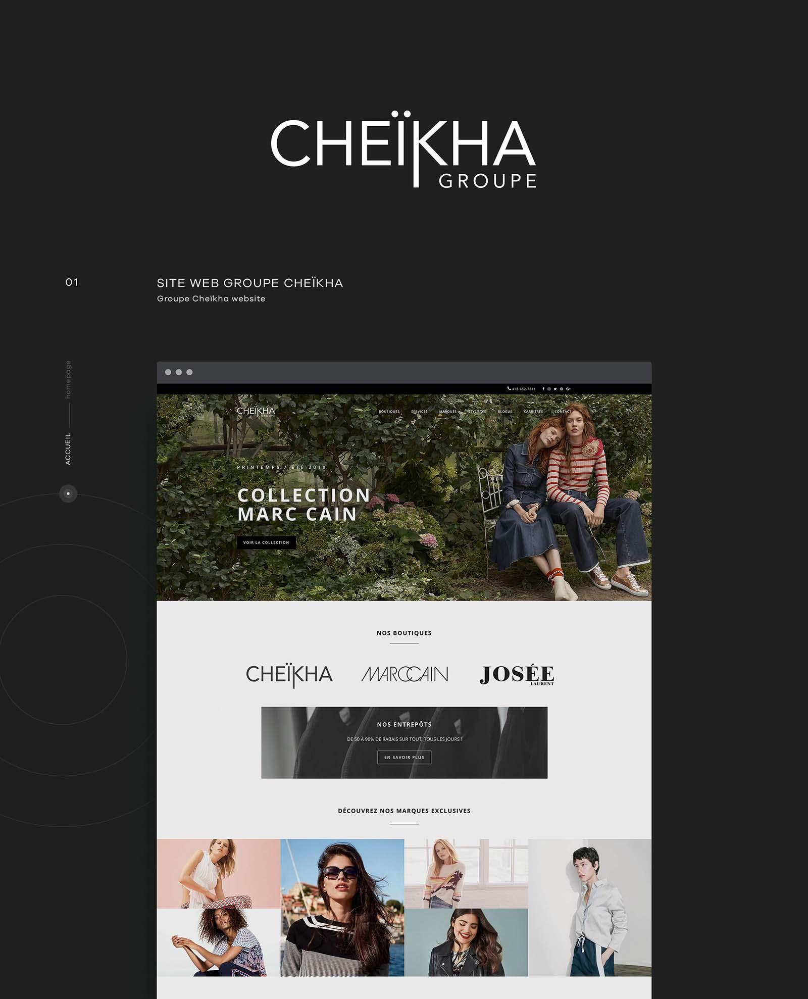 Le Groupe Cheikha - Web