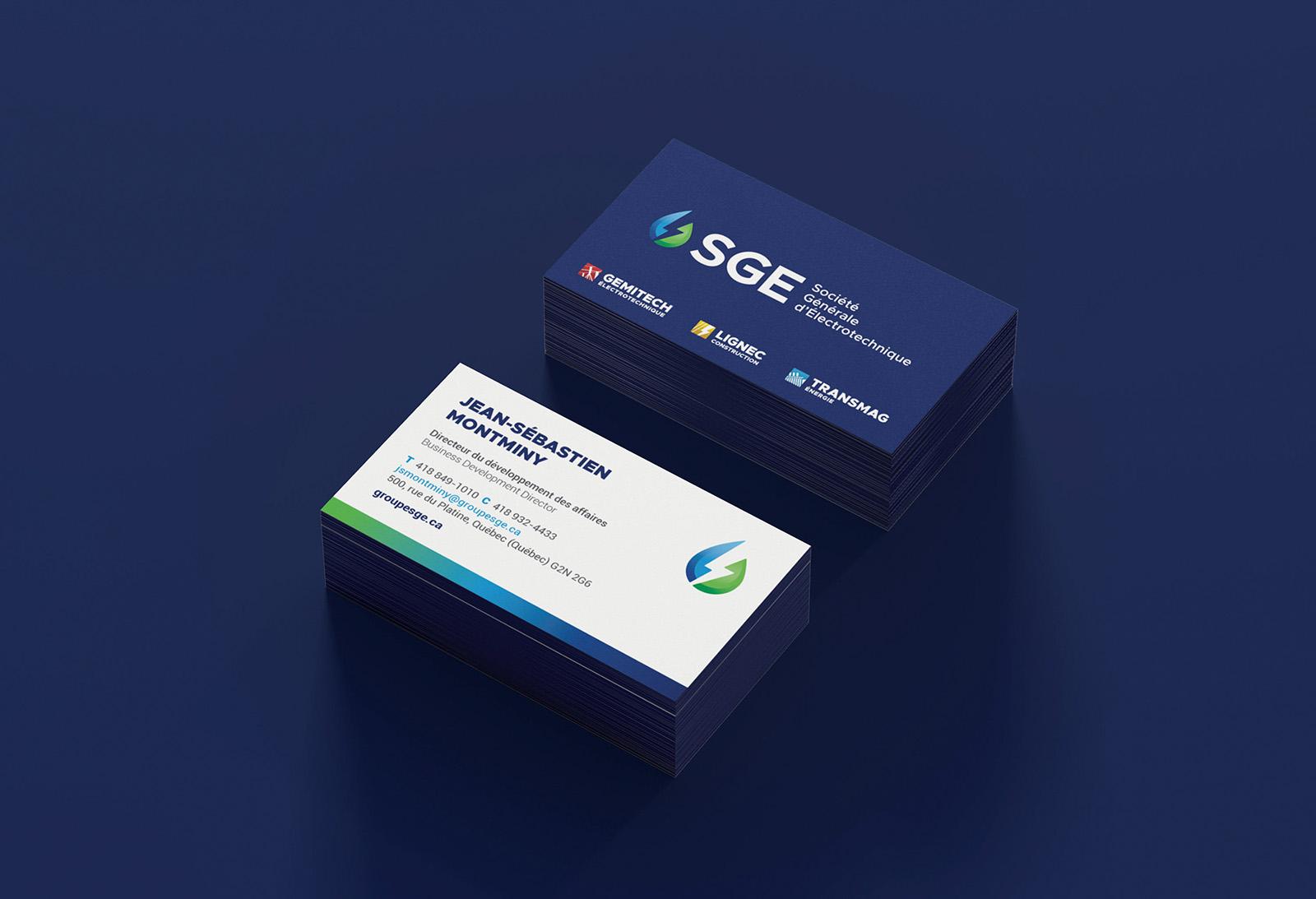 SGE Societe Generale Electrotechnique- Cartes