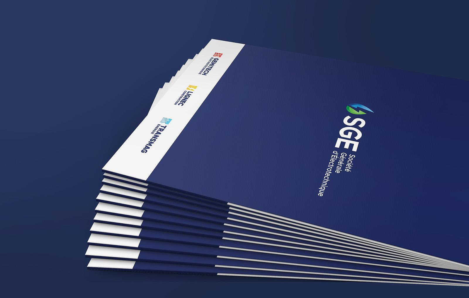 SGE Societe Generale Electrotechnique - Pochette