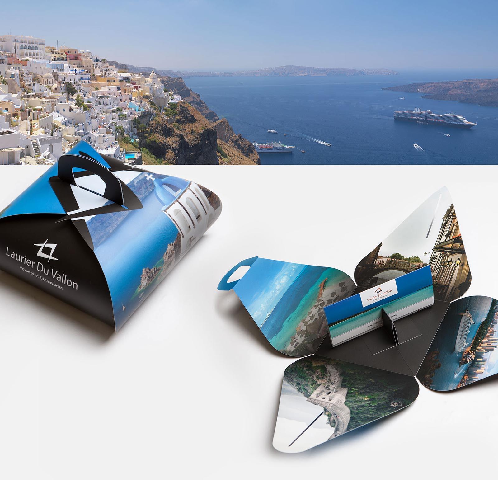 Voyages Laurier Du Vallon - Thira - Packaging