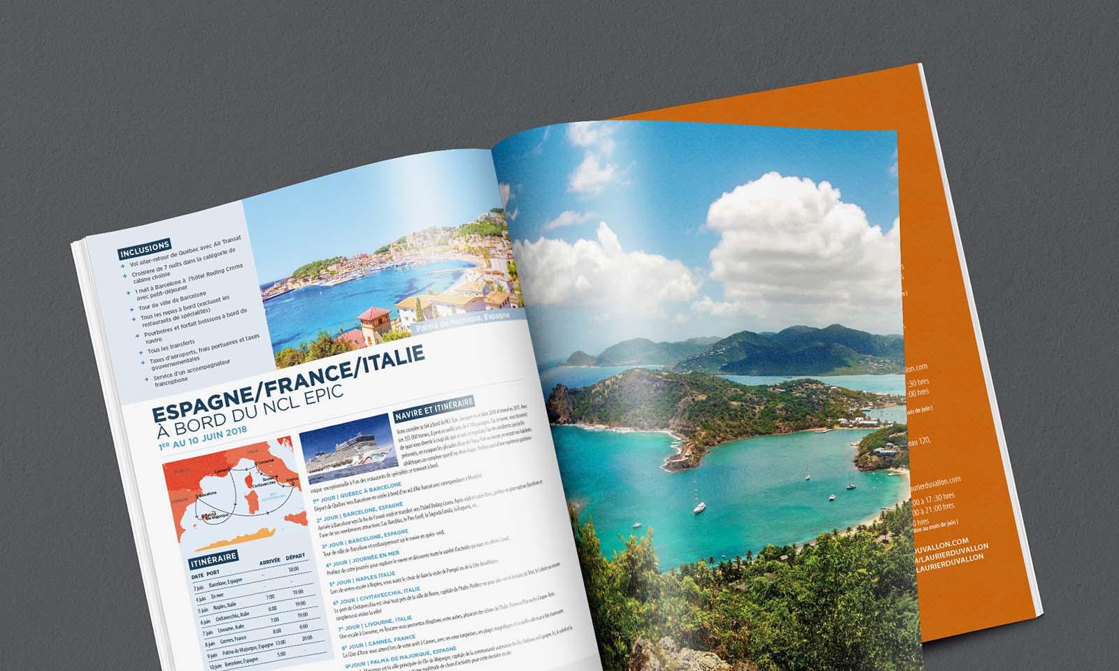 Voyages Laurier Du Vallon - Magazine