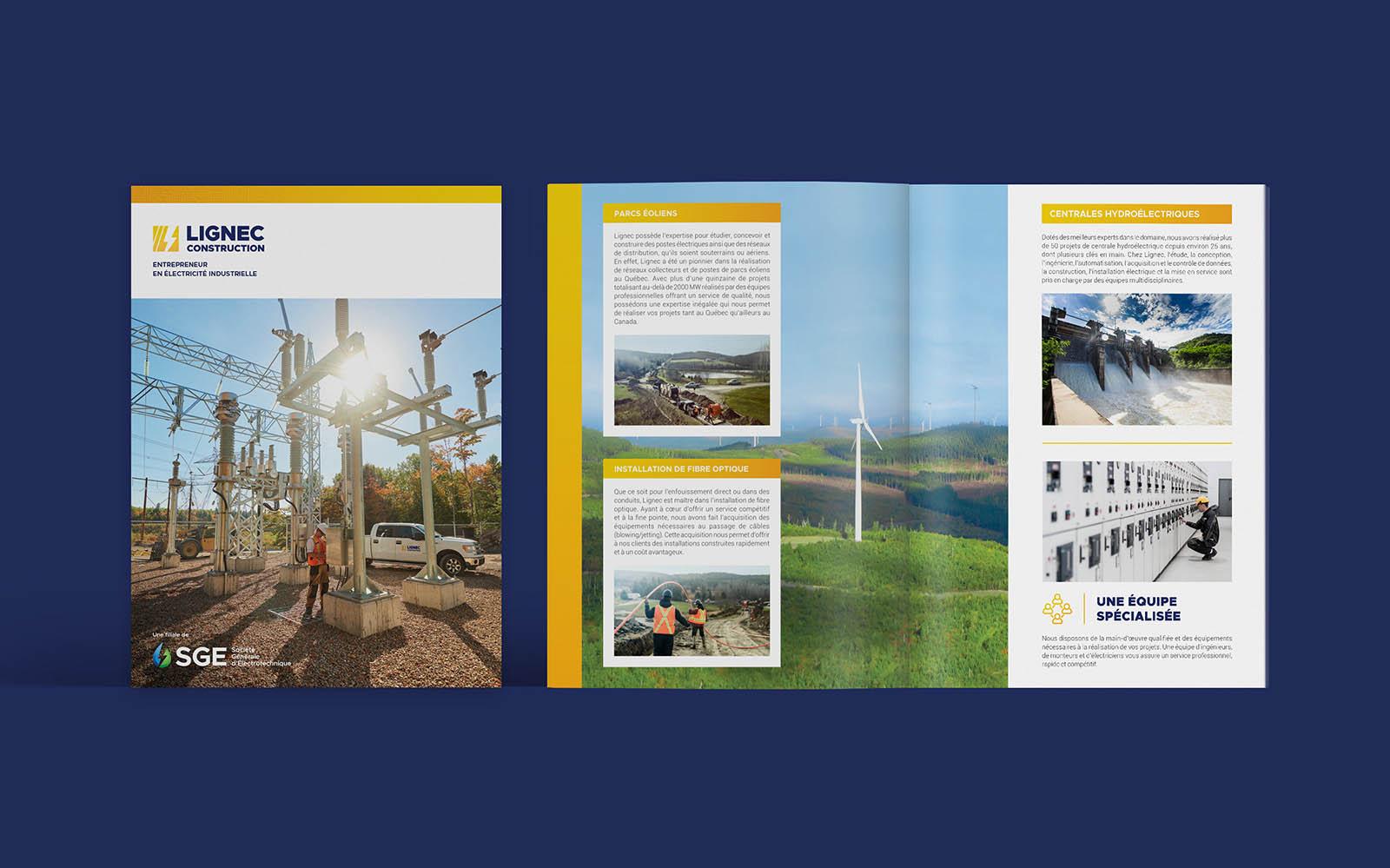 SGE Societe Generale Electrotechnique - Brochure