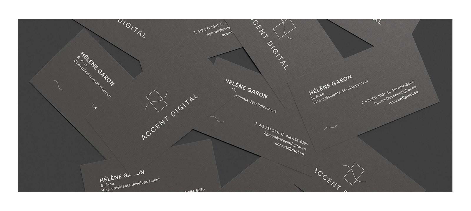 Scattered Business Card Mockup by Anthony Boyd Graphics