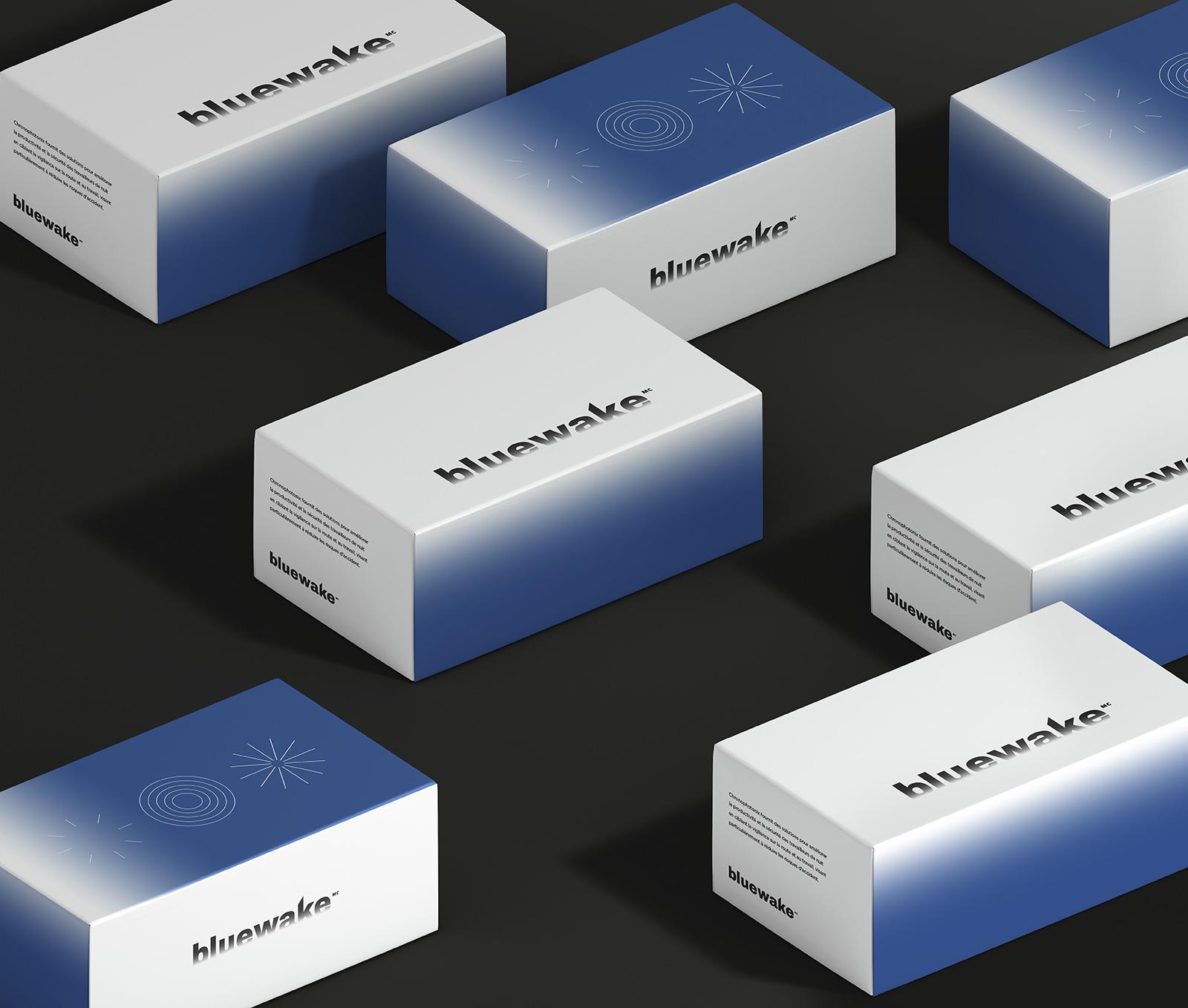 packaging bluewake